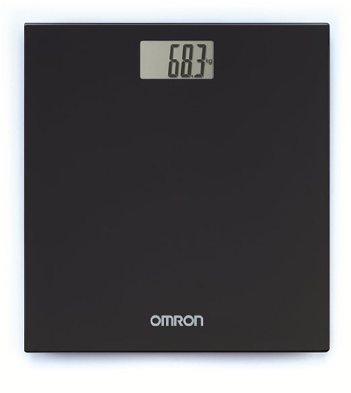 Omron HN-289 Digital Weighing Scale (Black)