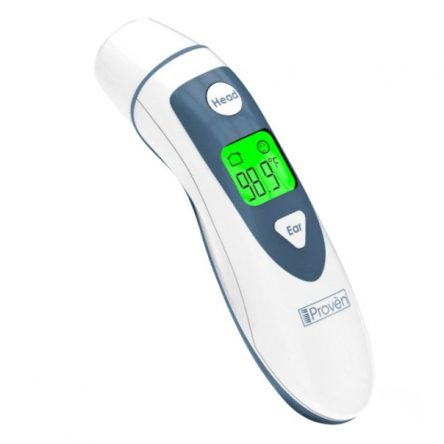 iProven Baby Thermometer Forehead and Ear – Digital Thermometer for Kids